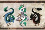 3 Chibi Dragons