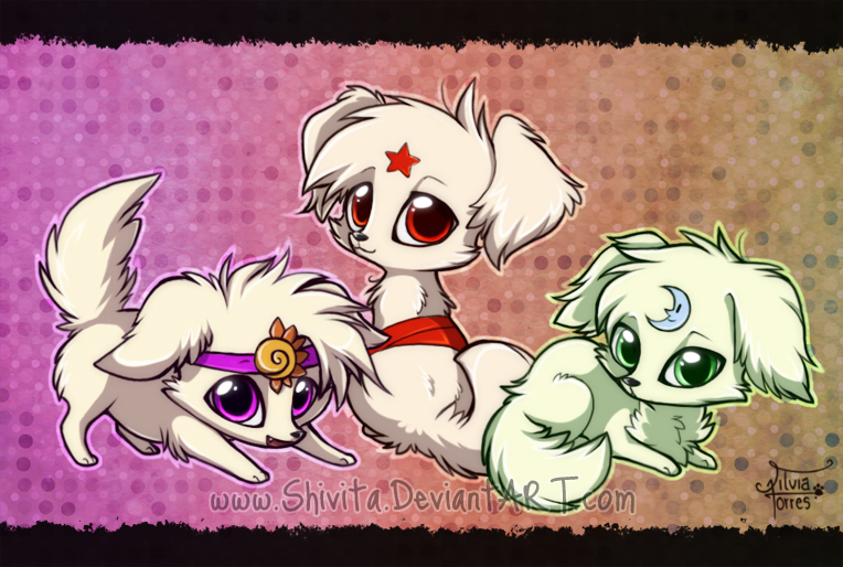 Digi Puppies by Shivita