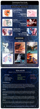 Commission Price Guide