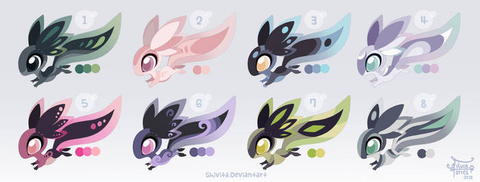 Xoloti Adoptables [OPEN, 4 left]