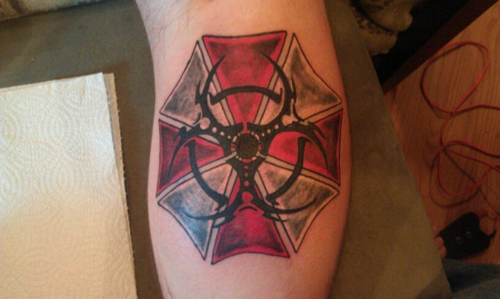 My Resident Evil Tattoo by viperguy586 on DeviantArt