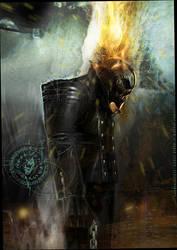 GhostRider1 by uwedewitt