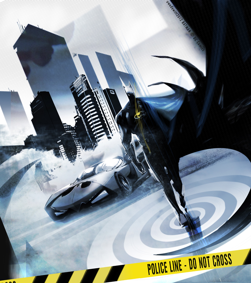Batman3 by uwedewitt