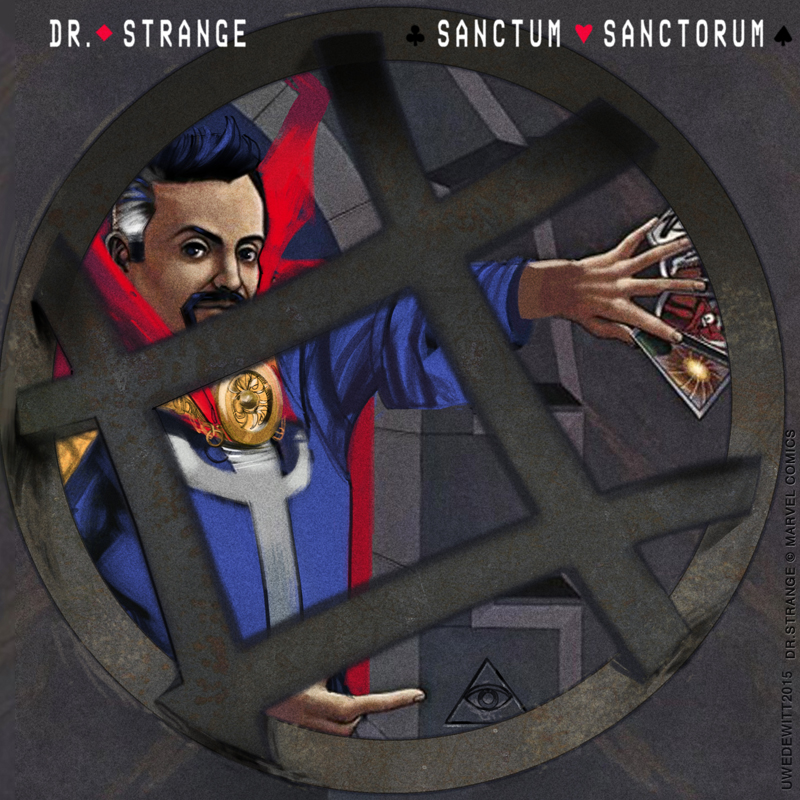 Blue Oyster Cult/Doctor Strange by uwedewitt