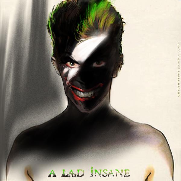 Bowie/Joker by uwedewitt