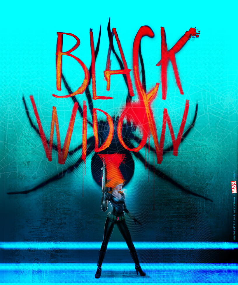 Black Widow by uwedewitt