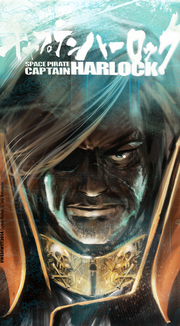 Captain Harlock 2 by uwedewitt