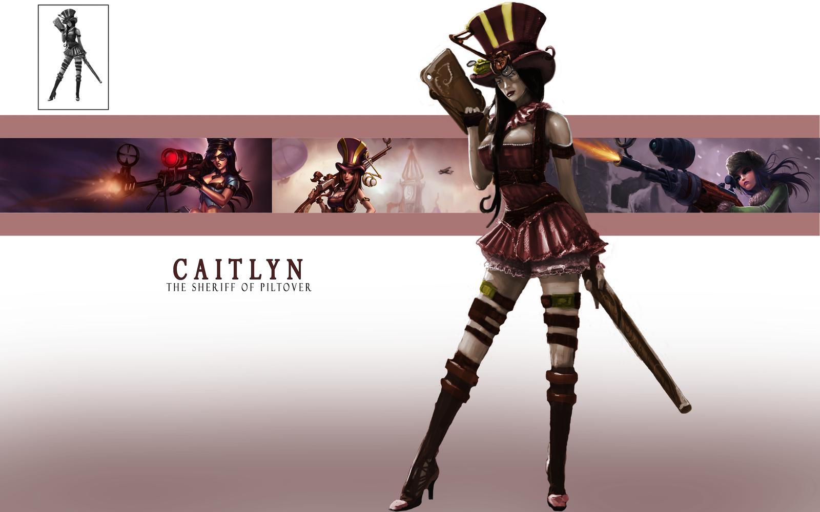 Caitlyn League of Legends by ArturoRenders on DeviantArt