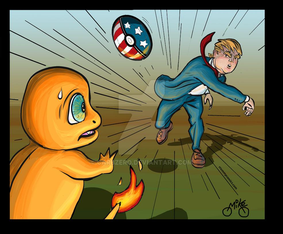Trump Pokemon by CarbZero