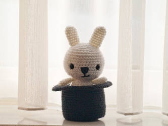 Amigurumi Magician Bunny by FireKylling