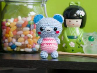 Amigurumi Baby Bear by FireKylling