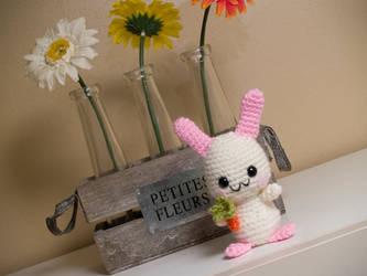 Amigurumi Baby Bunny by FireKylling