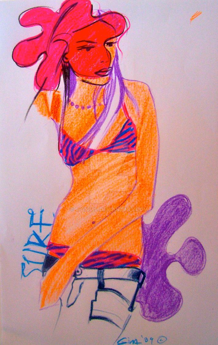 Flower girl by gigigirl