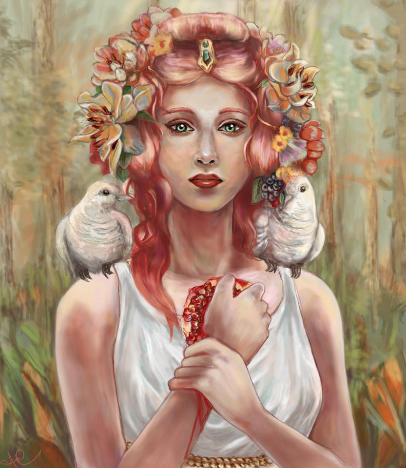 Persephone Goddess of Springtime and Queen of the ...