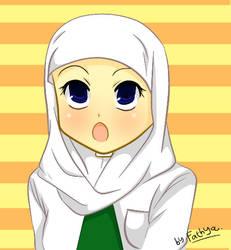 Moslem Girl by badakbcula1