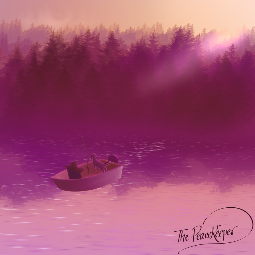 Fisherman's Paradise in Sunset Magenta by TheRealPeacekeeper