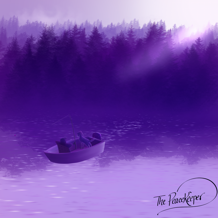 Fisherman's Paradise in Twilight Violet by TheRealPeacekeeper