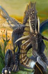 Swamp Dragon by Teba