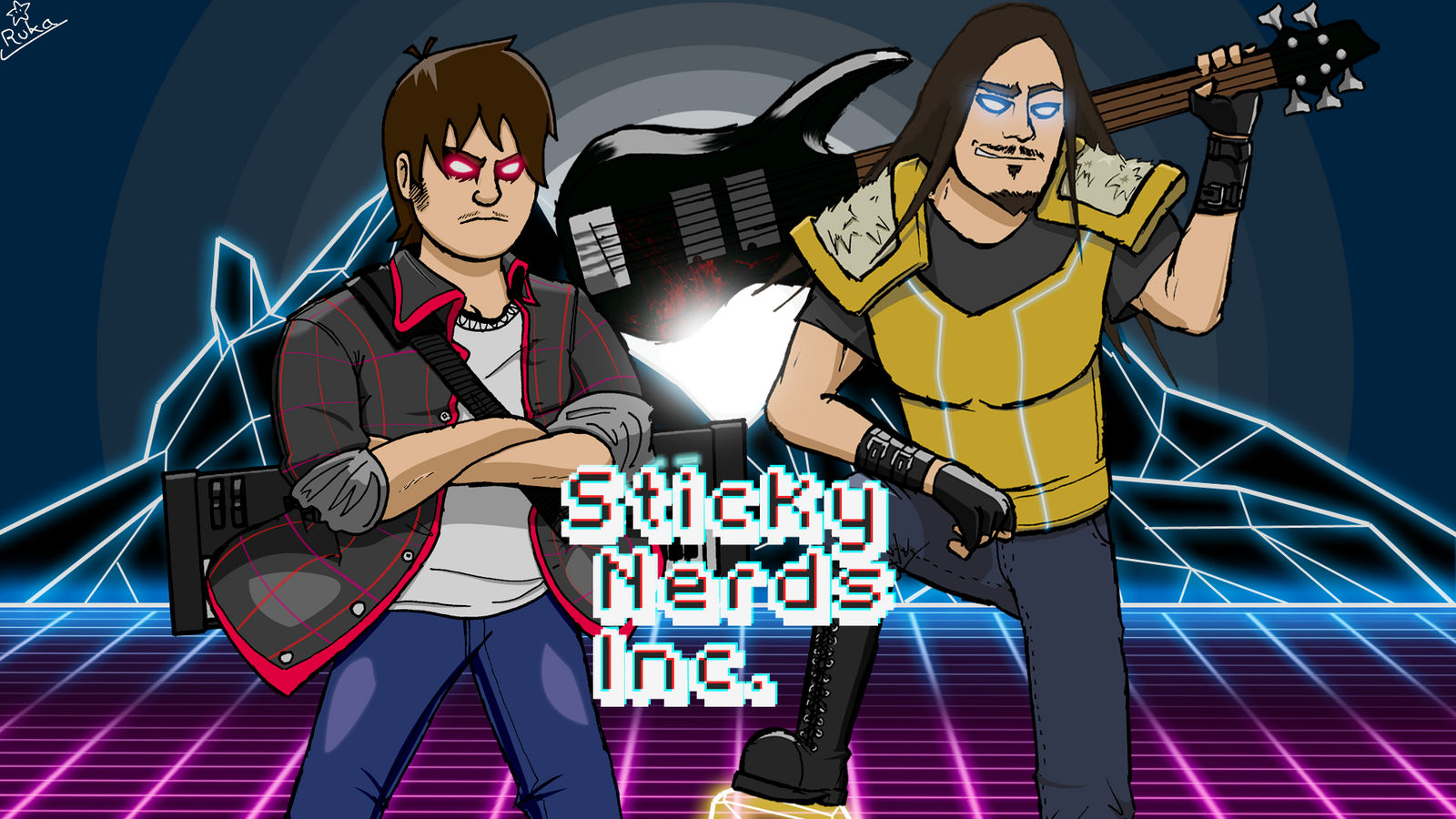 Sticky Nerds Inc. Artwork (youtube cover)