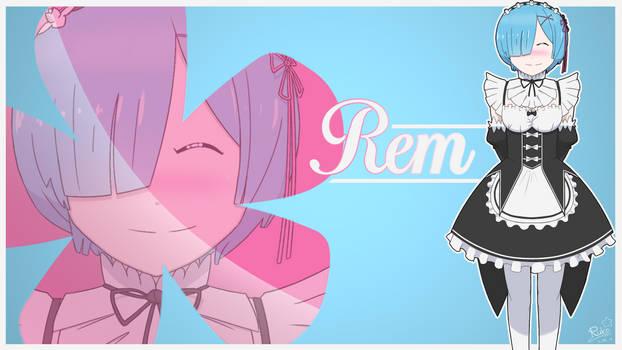 Chill Rem Wallpaper