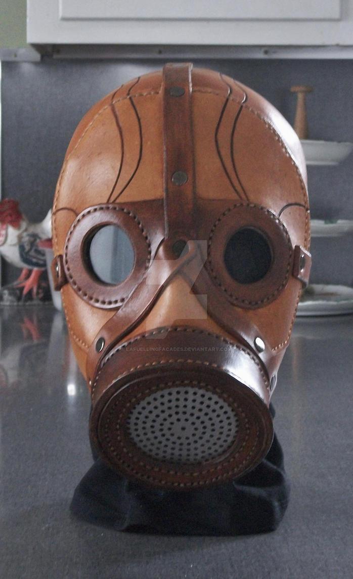 Leather Gas Mask Steampunk Futuristic by LAFuellingFacades on DeviantArt
