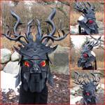 Client Custom 2 Piece Baddass mask