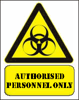 Biohazard Warning Sign by syths-cortex