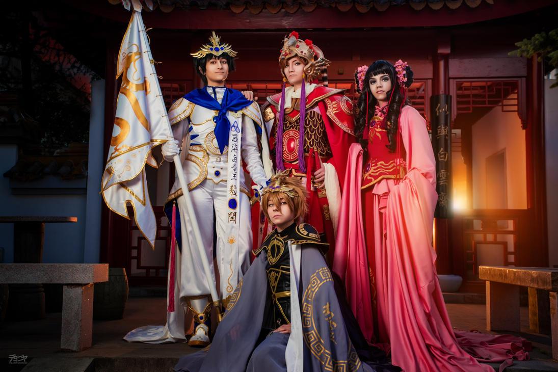 Sohryuden: Legend of the Dragon Kings by Isugi