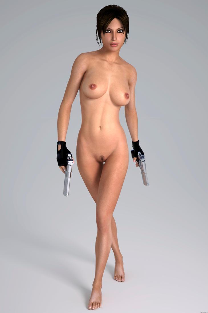 croft naked Lara