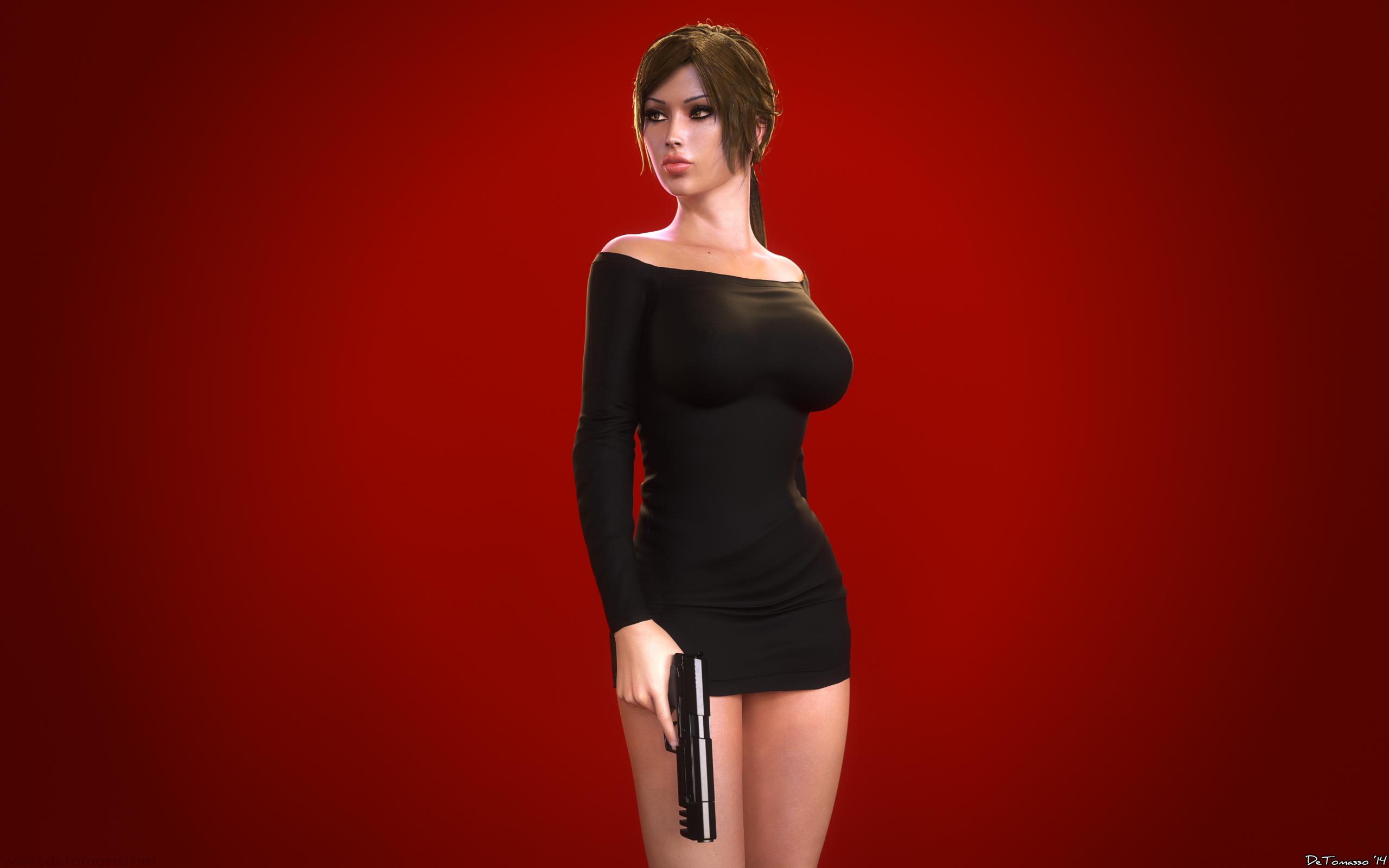 Lara 3d sexy video