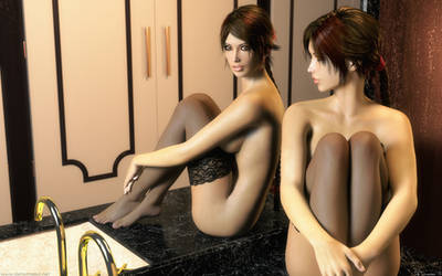 Lara Croft, Countess of Abbingdon by DeT0mass0