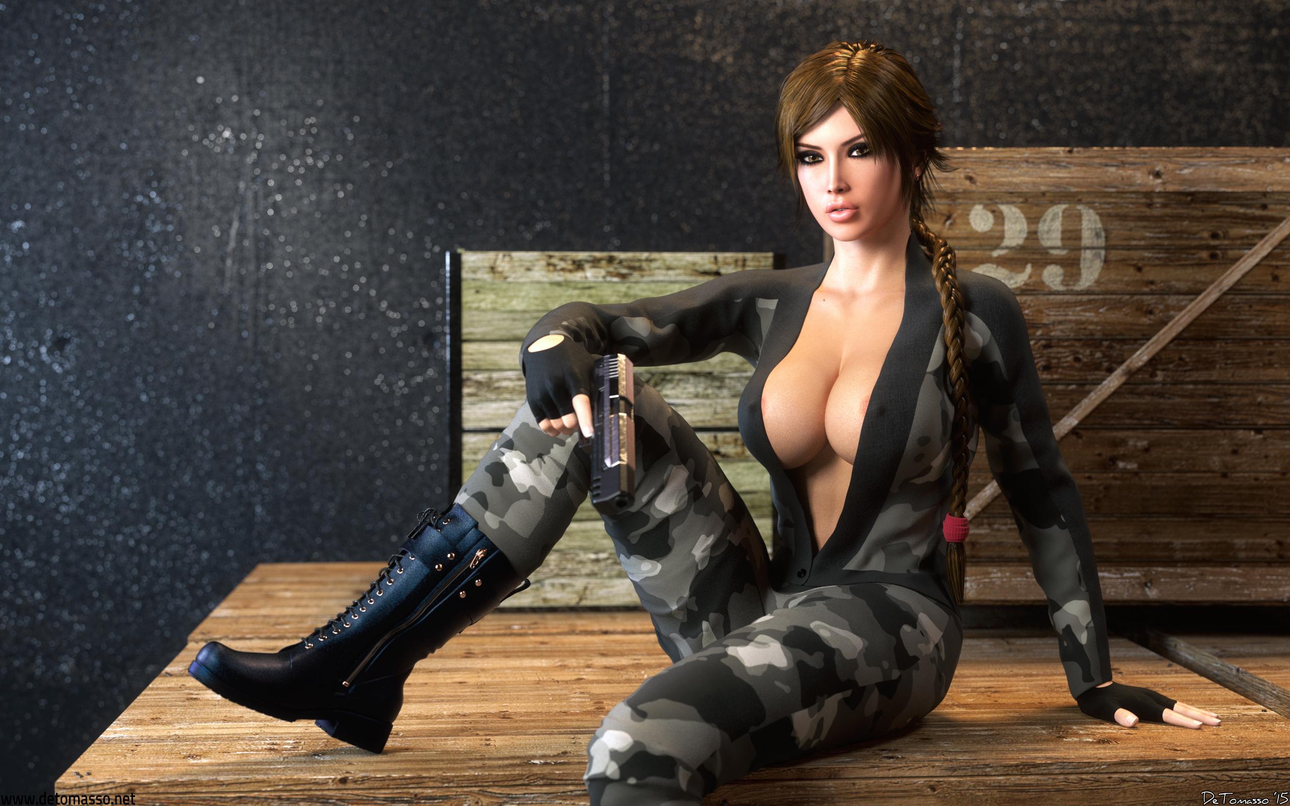Lara Croft - Locked And Loaded by DeT0mass0
