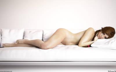 Lara Croft - Naked Beauty by DeT0mass0