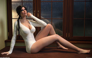 Lara Croft - Rainy Afternoon by DeT0mass0