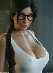 Lara Croft - Nerdy by DeT0mass0