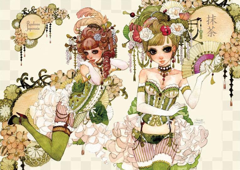 SweetsGirls by sakizo