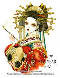 NewYearGreeting2012 by sakizo