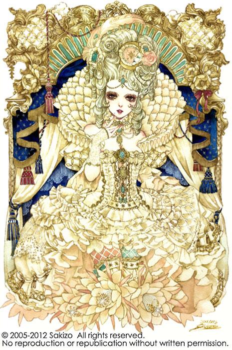 Rococo_PrincessKAGUYA by sakizo