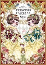 Princess Fantasy,Paper doll and illustration book