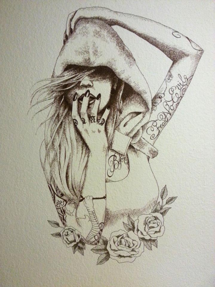 Drawing On My Wall By Sashka91