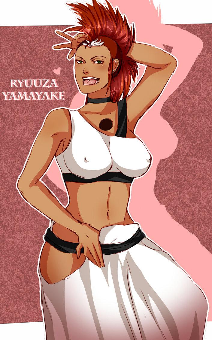 my bleach oc ryuuza yamayake drawn by Peachtrades by polk1245