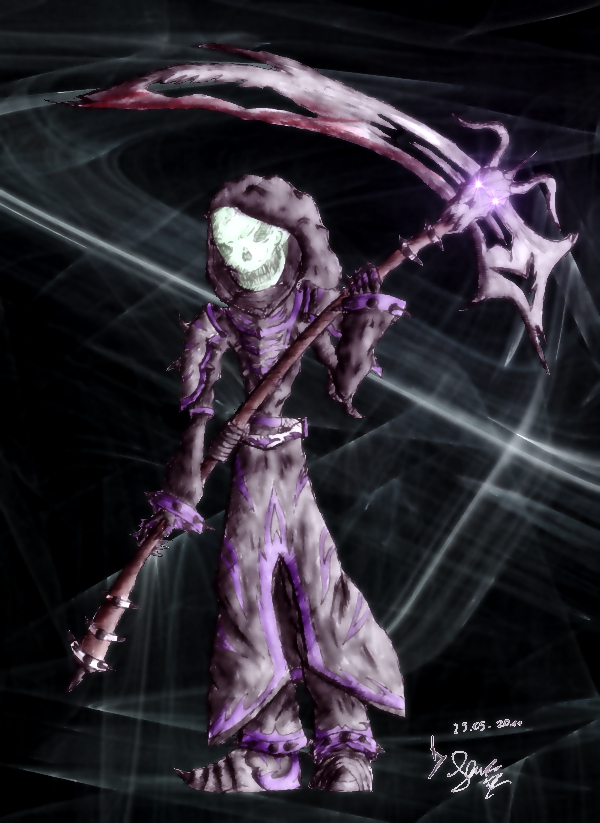 The Grim Reaper of Desola by Senuge