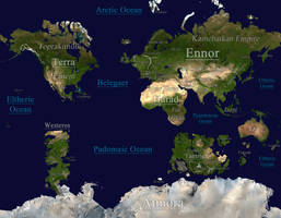 Midgard: A Fantasy World Map - [OLD VERSION] by tomme23