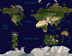 Midgard: A Fantasy World Map - [OLD VERSION]