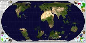 Midgard: A Fantasy World Map