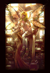 Old Work- library faerie v.2 by ToolKitten