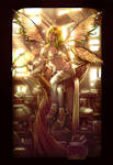 Old Work- library faerie v.2