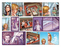 supergirl pages 6 and 7 by ToolKitten