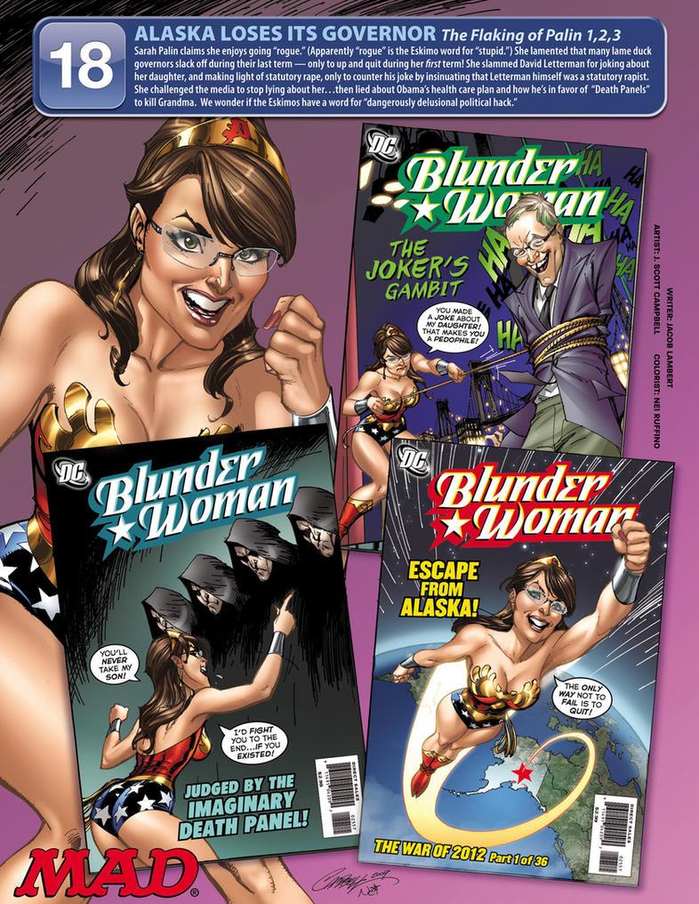 Blunder Woman by ToolKitten