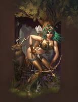 Hunteresque Painted